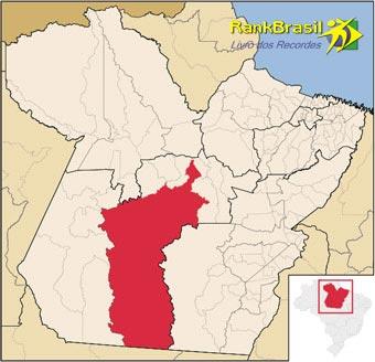 Maior município em extensão territorial