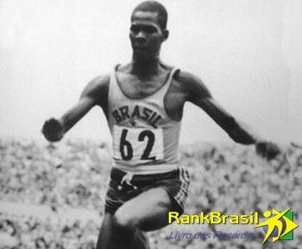 Primeiro ouro do atletismo brasileiro em jogos olímpicos