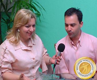 Maior tempo em entrevistas