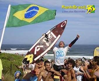 Mais jovem surfista brasileiro a conquistar título de campeão mundial