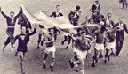 Primeiro título conquistado pelo Brasil em copas do mundo