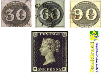 Primeiro selo do Brasil