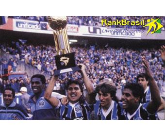 Primeiro time de futebol campeão da Copa do Brasil