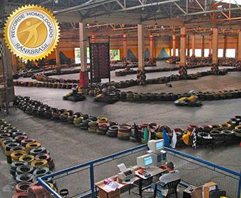 Maior pista de kart indoor