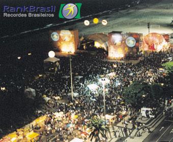 Maior beijaço do Brasil