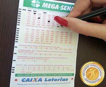 Maior prêmio da loteria brasileira