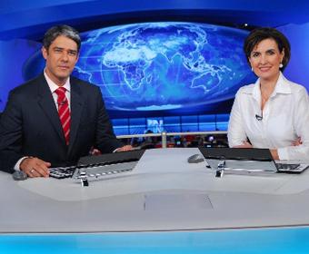 Casal que permaneceu mais tempo no ar em um telejornal