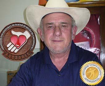 Maior doador de sangue do Brasil