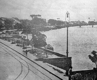 Primeira cidade a receber iluminação pública