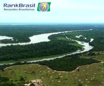 Maior área alagável do Brasil
