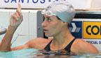 Mais rápida nadadora nos 100m livre em piscina longa