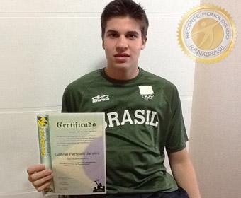 Primeira medalha do Brasil em competições internacionais de Parabadminton