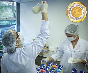 Maior rede de bancos de leite humano