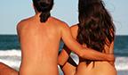 Primeira  praia de naturismo do Brasil