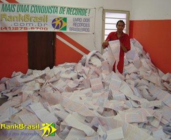 Maior carta do Brasil