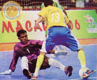 Maior goleada da história da Seleção Brasileira de Futsal