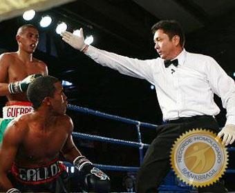 Primeiro árbitro brasileiro na história do boxe olímpico