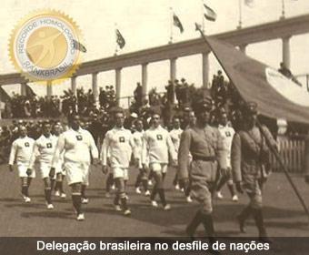 1920 edição Antuérpia, a primeira participação do Brasil em Jogos Olímpicos