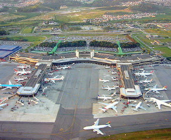 Aeroporto mais movimentado do Brasil