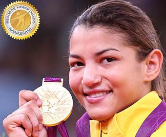 Primeiro ouro olímpico feminino no judô