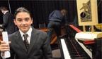 Mais jovem a concluir curso de Composição de Melodias