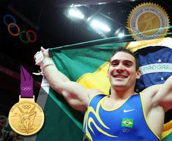 Primeira medalha olímpica da ginástica brasileira