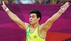 Primeiro ginasta a disputar final olímpica no individual geral