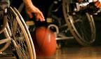 Primeiro jogo de basquetebol em cadeira de rodas