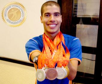 Maior medalhista em uma mesma edição das Paralimpíadas