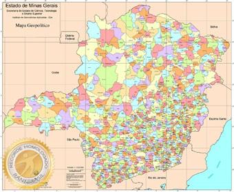 Estado brasileiro com maior número de municípios