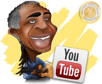 Primeiro artista brasileiro a ter um canal exclusivo no YouTube