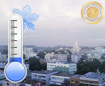 Menor temperatura registrada no Brasil por órgão oficial nacional