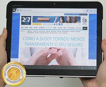 Primeiro jornal brasileiro exclusivo para iPad