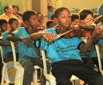 Primeira orquestra quilombola do Brasil