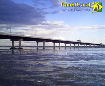 Maior ponte fluvial
