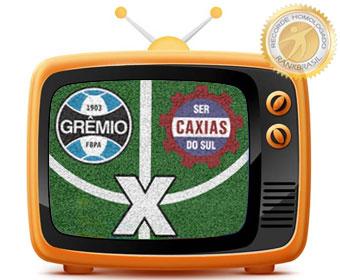 Primeiro jogo de futebol televisionado em cores no Brasil