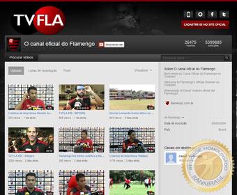 Primeiro clube brasileiro a ter canal oficial no YouTube