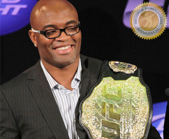Primeiro a liderar ranking oficial do UFC