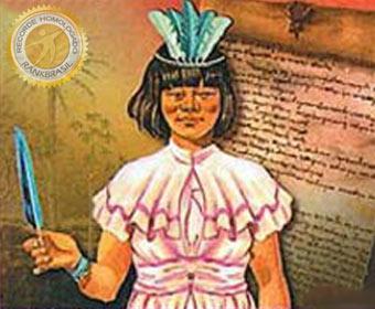 Primeira mulher alfabetizada no Brasil