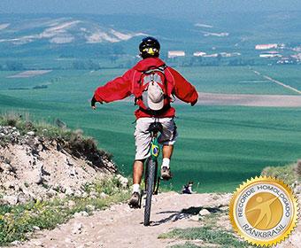 Maior percurso de monociclo feito por um brasileiro