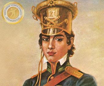 Primeira mulher a integrar uma unidade militar no país