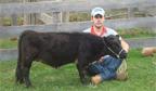 Menor vaca do Brasil