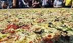 Maior pizza do Brasil