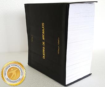 Maior livro de ficção em número de páginas