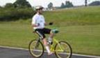 Maior percurso sentado de costas no guidão de uma bicicleta