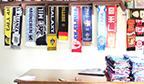 Maior coleção de cachecóis de times de futebol
