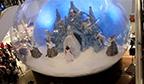 Primeiro espetáculo dentro de globo de neve