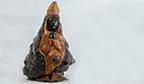 Maior escultura sacra em nó de pinho