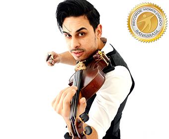 Violinista mais rápido do Brasil