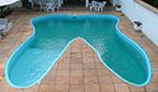 Maior piscina em formato de dente